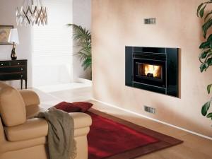 Catalogo Extraflame Recuperador de calor Pellets Comfort P80 Crystal
