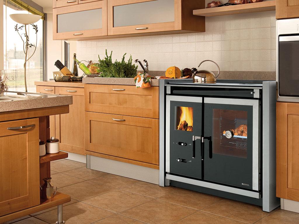 Fog o nordica a lenha italy built in - Muebles para cocina economica ...